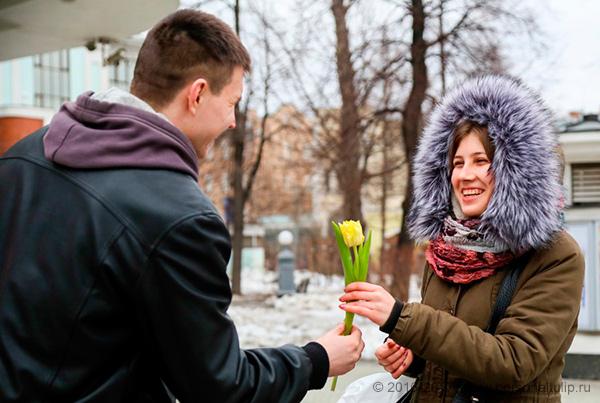 8 Марта в парках Москвы Москва